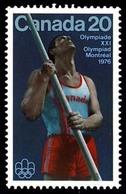 Canada (Scott No. 664 - Olympique D'été / 1976 / Summer Olympic) [**] - 1952-.... Règne D'Elizabeth II
