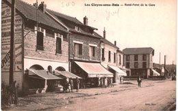 LES CLAYES SOUS BOIS ... ROND POINT DE LA GARE - France