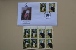 Bolivie FDC 2006 Oiseaux Santa Cruz  + 2 Boc 4 MNH Aigle Pavichi Bolivia Birds - Owls