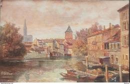 FRANCE 67 , Strasburg , Partie Bei Den Gedeckten Brücken, Unused - Strasbourg