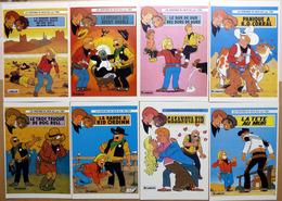 CHICK BILL  Par  TIBET  : Lot De 8 Cartes Postales - 1983 - Comics