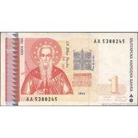 TWN - BULGARIA 114 - 1 Lev 1999 Prefix АА F/VF - Bulgaria