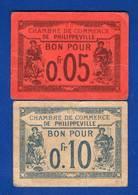 Philippeville  2  Billets - Algérie