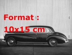 Reproduction D'une Photographie Ancienne D'une Belle Berline Allemande De Chez Mercedes-Benz - Reproductions