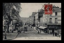 VERSAILLES (78) - La Rue Royale (animé) - Versailles