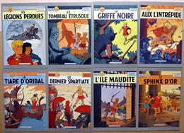 ALIX    : Lot De 8 Cartes Postales - 1985 - Comics