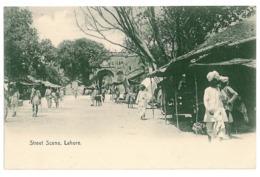 PAK 2 - 9314 LAHORE, Pakistan, Street Scene - Old Postcard - Unused - Pakistan