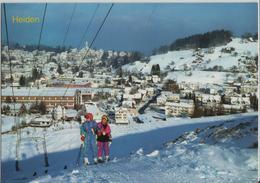 Heiden Im Winter En Hiver, Skilift - AR Appenzell Rhodes-Extérieures