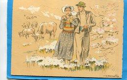BONNEFOY-J H -Printemps En Montagne -bergère Et Son Courtisan -édition BD- A Voyagé  Années 30 - Illustrateurs & Photographes