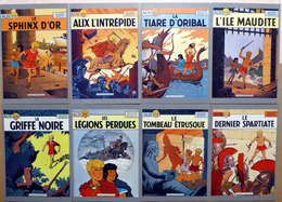 ALIX    : Lot De 8 Cartes Postales - 1985 - Bandes Dessinées