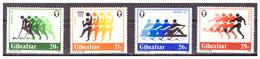 GIBRALTAR -  1984 - SPORTS. COMPLETE SET.. - MNH** - Gibraltar