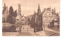 Brugge-Bruges-1913-Quai Du Rosaire-Beffroi-Vieux Marché Aux Poissons-Vischhandel H.Mestdach-De Backer - Brugge