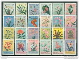 E1483-  Set  MNh Rep. Maluku Selatan - Flowers (cinderellas) - Fantasy Labels
