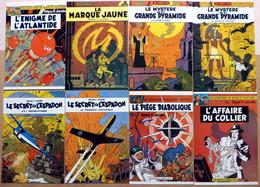 Edgar P. JACOBS    : Lot De 11 Cartes Postales - 1984 - Comics