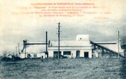 USINE SILICO CALCAIRE DE TANCARVILLE   + PUB AU VERSO - Tancarville