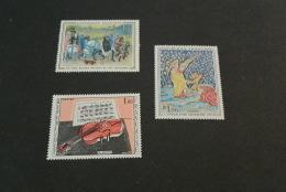 FR101-stamps MNH  France -  1965 --L'Apocalypse - R.Dufy Et Les Tres Riches Heures Du Duc De Berry - France