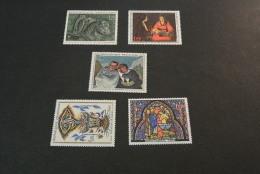 FR114-set  MNH  France -  1966 - SC. 1149-1153 - Art - - France