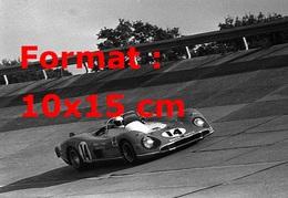 Reproduction D'une Photographie Ancienne D'une Matra Simca N°14 En Course En 1970 - Reproductions