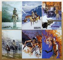 COMANCHE    : Lot De 11 Cartes Postales - 1984 - Comics