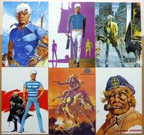 BERNARD PRINCE    : Lot De 6 Cartes Postales - 1984 - Comics