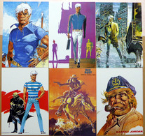BERNARD PRINCE    : Lot De 6 Cartes Postales - 1984 - Bandes Dessinées