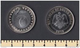 South Sudan 2 Pounds 2015 - Monete