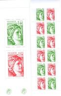 FRANCE CARNET 1524 40 ANS SABINE DE GANDON VOIR SCAN RECTO / VERSO - Markenheftchen