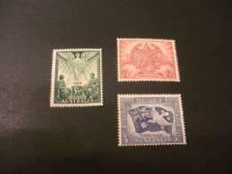 F2872-  Set MNH Australia- Peace 1945 - 1937-52 George VI