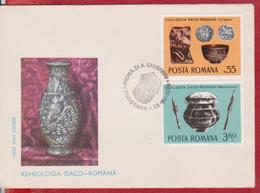 ARCHAEOLOGY ROMANIA FDC - Archaeology