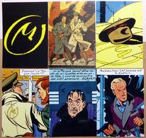 Edgar P. JACOBS    : Lot De 10 Cartes Postales - 1984 - Bandes Dessinées