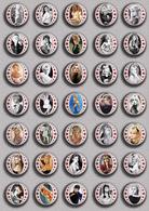 Brigitte Bardot Movie Film Fan ART BADGE BUTTON PIN SET 12 (1inch/25mm Diameter) 35 DIFF - Films