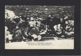CPA Guerre Victimes Des Gaz Asphixiants Non Circulé - Guerre 1914-18