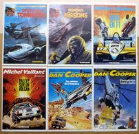MICHEL VAILLANT - DAN COOPER - TANGUY : Lot De 6 Cartes Postales - 1982 - Comics