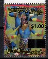 TRINIDAD AND TOBAGO, 2017, MNH, COSTUMES, CARNIVAL, DANCES, OVERPRINT, 2v , SCARCE - Carnival