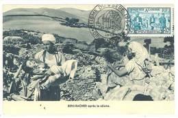 Cpa Algérie - Beni-Rached Après Le Séisme  ( CP Maximum )    ( S. 3441 ) - Algérie