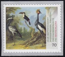 3281 Tiermaler Jean-Baptiste Oudry – Vögel, Selbstklebend ** - [7] Federal Republic