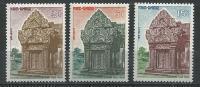 "Cambodge YT 132 à 134 "" Retour "" 1963 Neuf** - Cambodia"