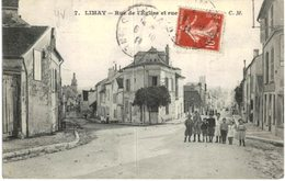 LIMAY .... RUE DE L EGLISE ET RUE ???? - France
