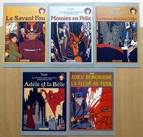 TARDI    : Lot De 5 Cartes Postales - 1985 - Comics