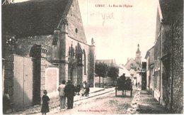 LIMAY .... LA RUE DE L EGLISE - France