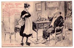 3250- Cp Humoristique -  Nos Bons Citadins - Bonne à Tout Faire - N°5 - G.Gervais édit. à Saulieu - - Humour