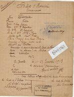 VP13.336 - MILITARIA - COLOMBES 1939 X JANVILLE 1918 - Billet D'Hopital Soldat DEVAISE Du 23è Rgt D'Infanterie à LYON - Documents