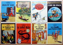 TINTIN    : Lot De 23 Cartes Postales - 1981 - Comics