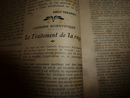 1907 MA REVUE :La Rage,article Signé Pasteur;Chanson: Notre-Dame Des Sillons;Famille Drouillard De Sannois;Le Kirsch;etc - Livres, BD, Revues