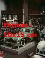 Reproduction D'une Photographie Ancienne D'une Talbot Lago Au Salon De L'automobile De Paris En 1948 - Reproductions
