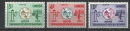 "Cambodge YT 161 à 163 "" I.U.T. "" 1965 Neuf** - Cambodia"