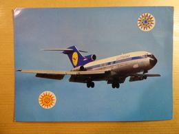 AIRLINE ISSUE / CARTE COMPAGNIE        LUFTHANSA  B 727 - 1946-....: Era Moderna