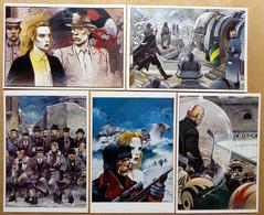 BILAL    : Lot De 5 Cartes Postales - 1984 - Bandes Dessinées