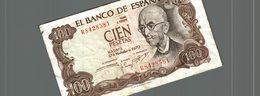 CIEN PESETAS - [ 3] 1936-1975 : Régence De Franco