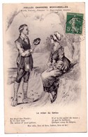 """3252- Cp Humoristique -  Vieilles Chansons Morvandelles -  """" Le Mitan Du Gatiau """" - Roube édit.- - Humour"""